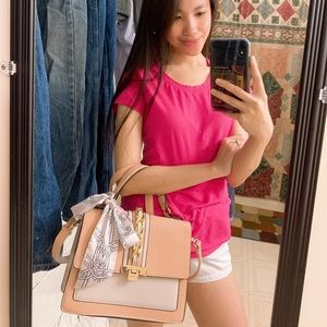 Aldo Pink Handbag/Sling Bag